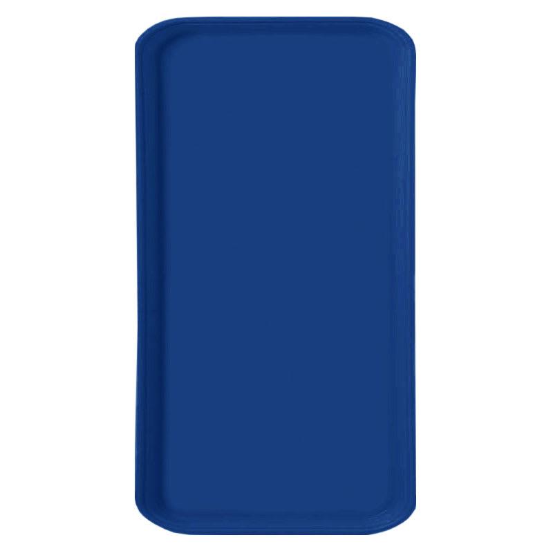 Carlisle 1220FG050 Rectangular Cafeteria Tray - 53cmx32.5cm, Sapphire Blue