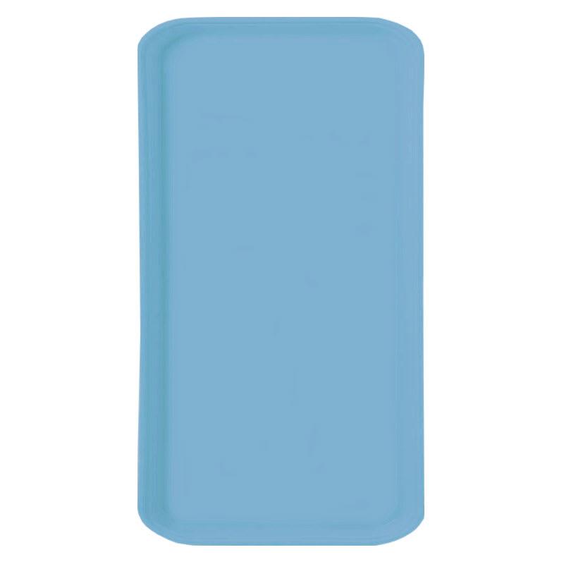 Carlisle 1220FG97003 Rectangular Cafeteria Tray - 53cmx32.5cm, Pacific Blue