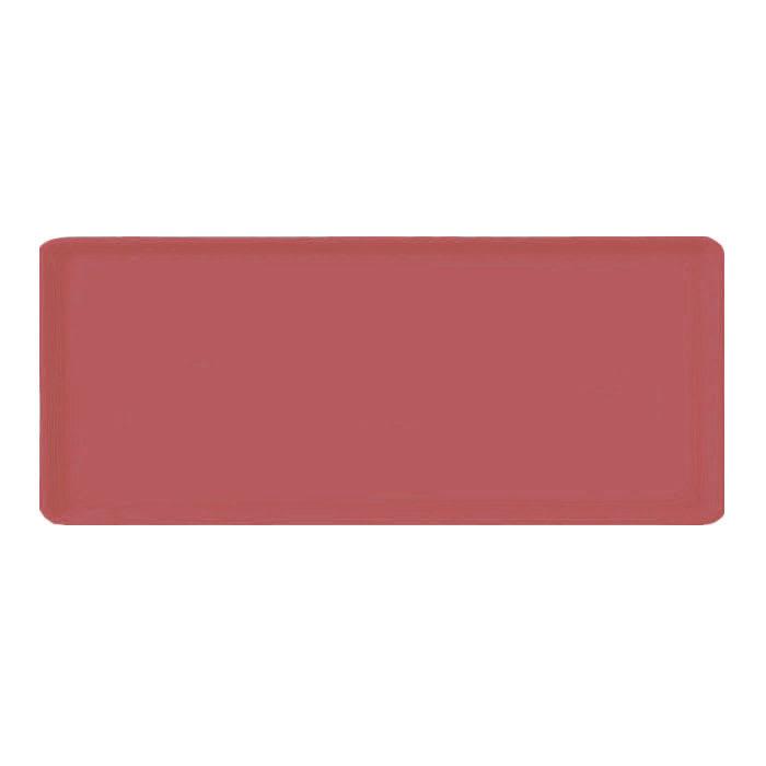 "Carlisle 1222LFG069 Rectangular Cafeteria Tray - 21x12"" Raspberry"