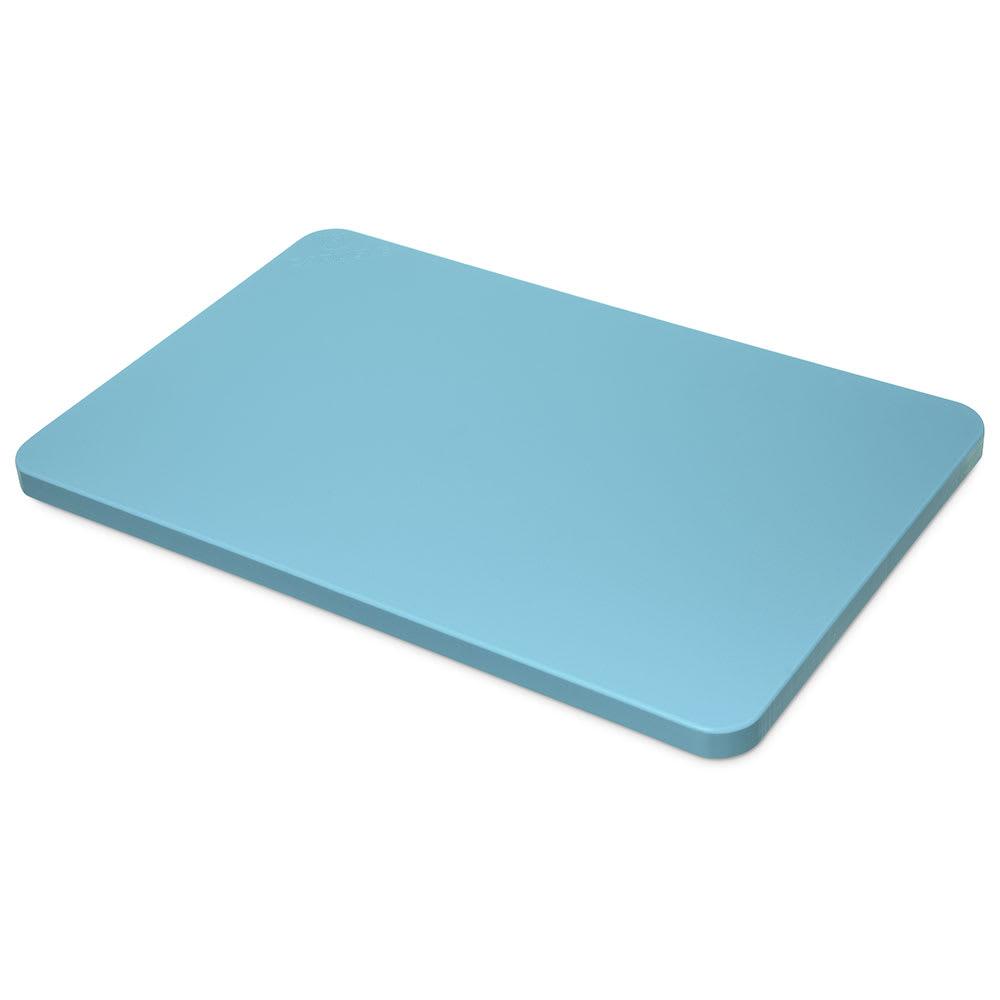 """Carlisle 1288714 Poly Cutting Board - 15x20x3/4"""" Blue"""