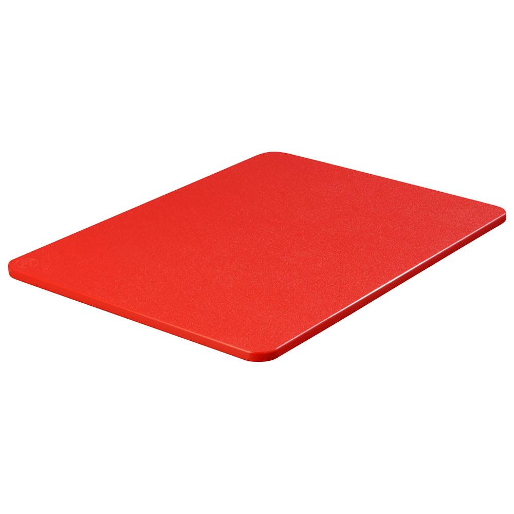 """Carlisle 1289205 Poly Cutting Board - 18x24x3/4"""" Red"""
