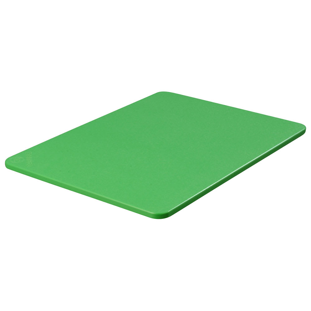 "Carlisle 1289209 Poly Cutting Board - 18x24x3/4"" Green"