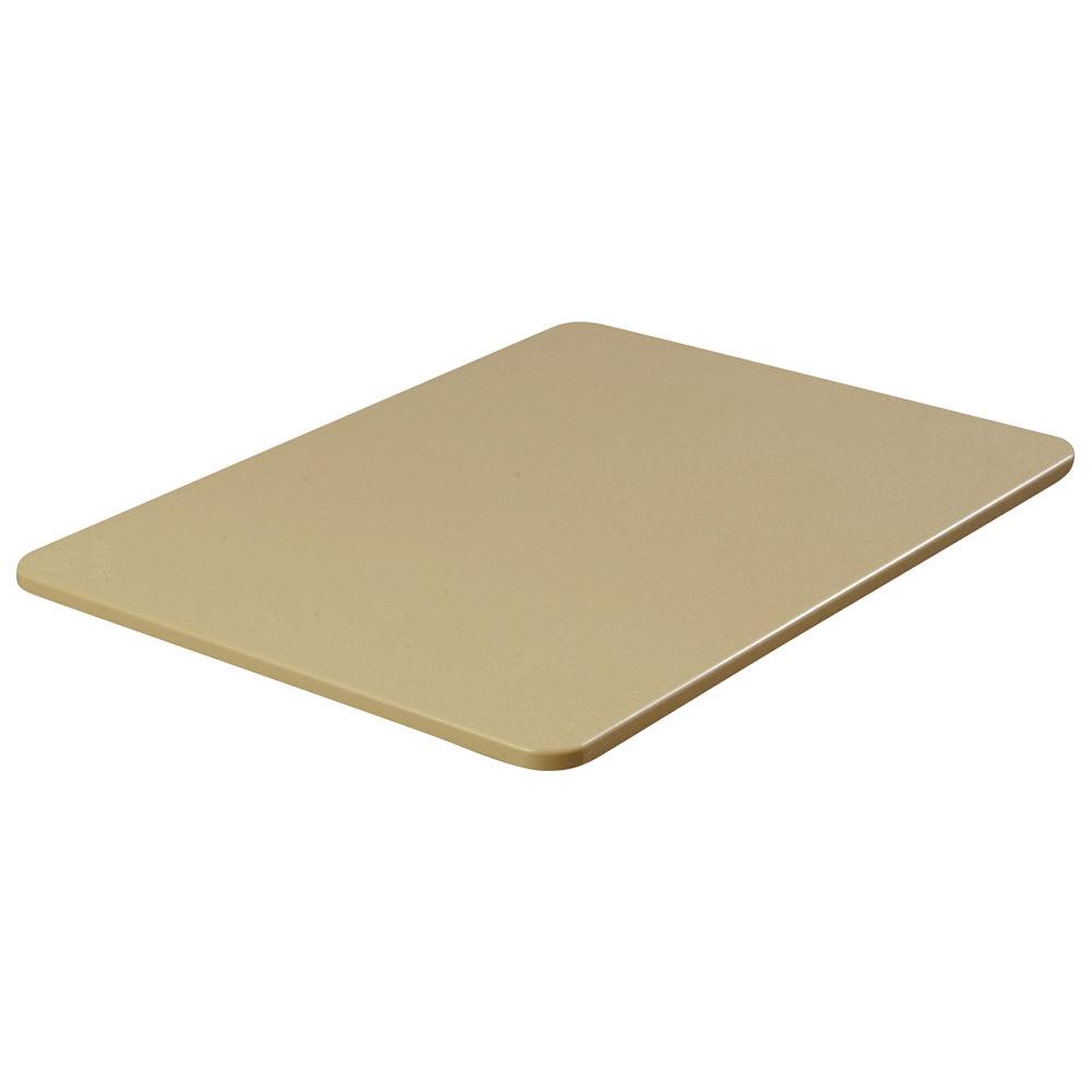 """Carlisle 1289225 Poly Cutting Board - 18x24x3/4"""" Tan"""