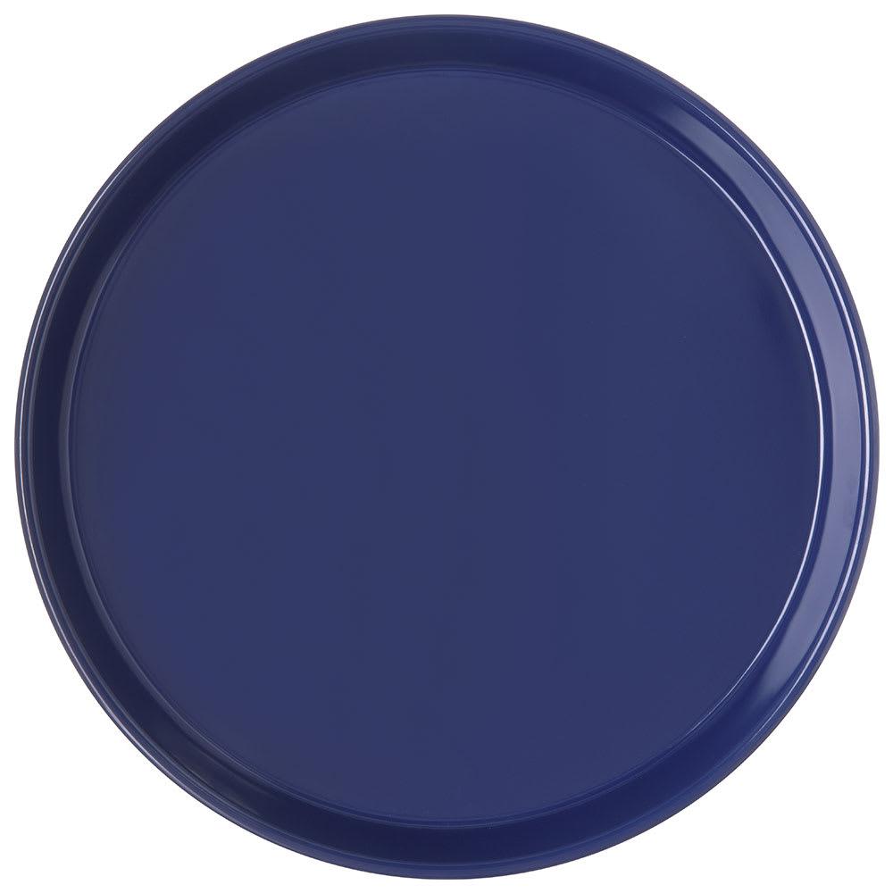 "Carlisle 130060 13"" Round Bar Tray - Cobalt Blue"