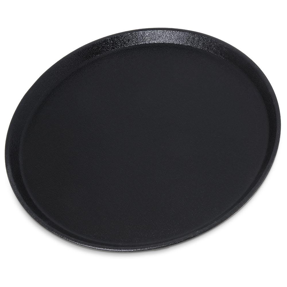 "Carlisle 1400GR2004 14"" Round Griptite™ 2 Serving Tray, Black"