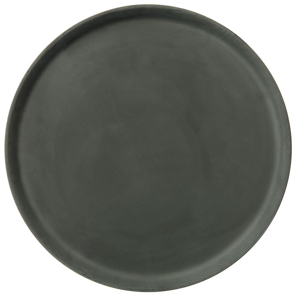 "Carlisle 1400GR2004 14"" Round Serving Tray - Black"