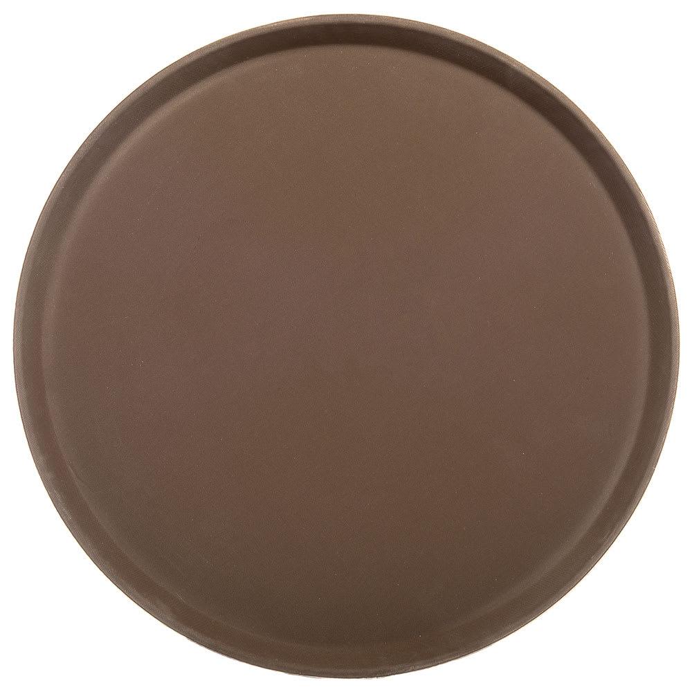 "Carlisle 1400GR076 14"" Round Serving Tray - Tan"