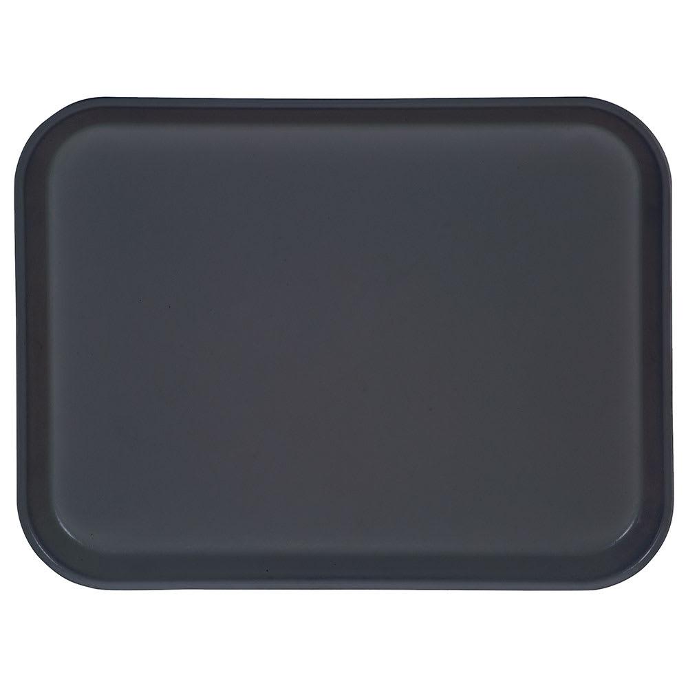 "Carlisle 1410FG067 Rectangular Cafeteria Tray - 13 3/4x10 5/8"" Slate Blue"
