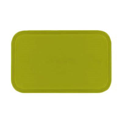 Carlisle 1419FG008 Rectangular Cafeteria Tray - 38.5x50cm, Avocado