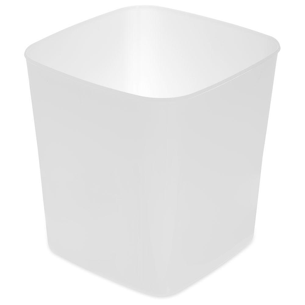Carlisle 156802 8 qt Square Food Storage Container - White