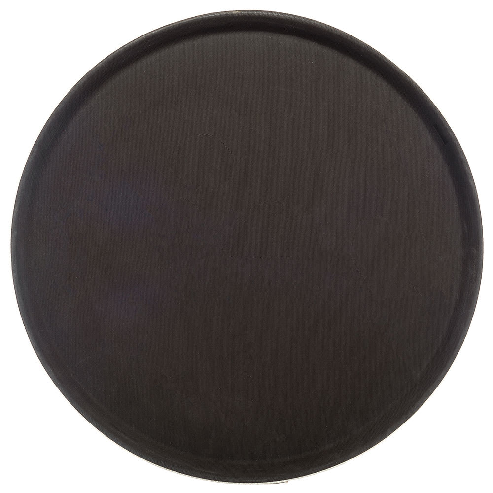 "Carlisle 1600GL076 16 7/16"" Round Serving Tray - Tan"