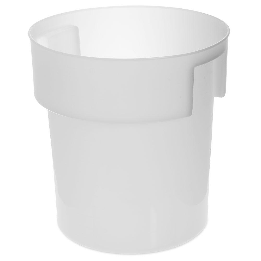 Carlisle 180002 18 qt Round Bain Marie Container - White