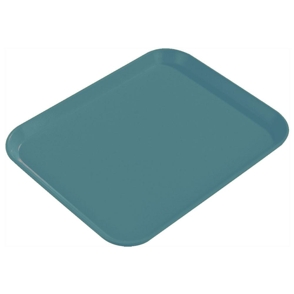 "Carlisle 1814FG006 Rectangular Cafeteria Tray - 18x14"" Ultramarine"