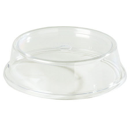 """Carlisle 199207 10-1/2 to 10-5/8"""" Plate/Bowl Cover - Poly, Clear"""