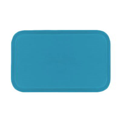 Carlisle 2115FG011 Rectangular Cafeteria Tray - 53x37.5cm, Turquoise