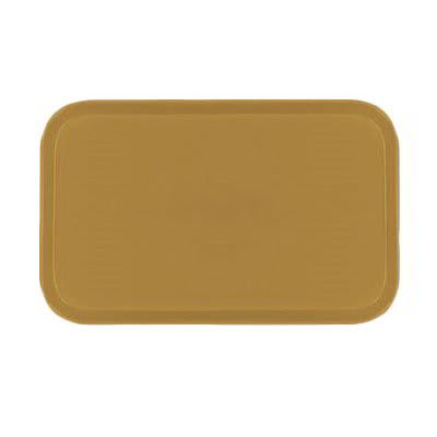 Carlisle 2115FG023 Rectangular Cafeteria Tray - 53x37.5cm, Gold