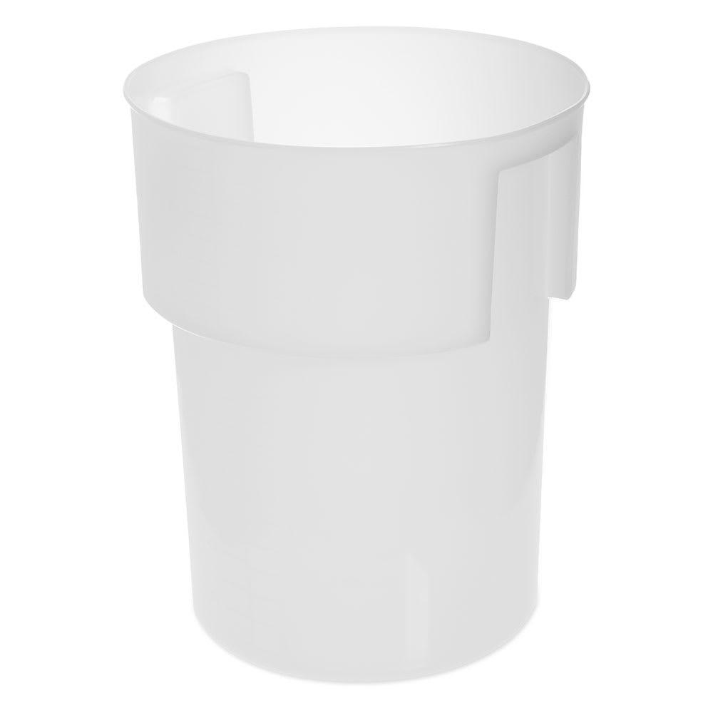 Carlisle 220002 22 qt Round Bain Marie Container - White