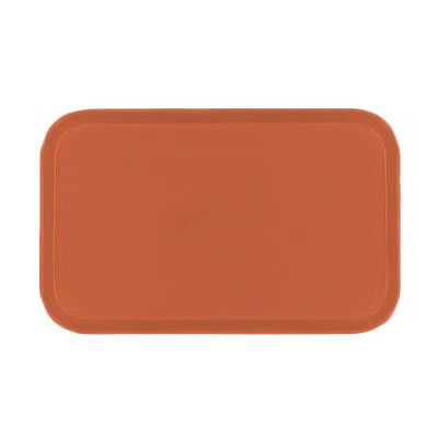 Carlisle 2310FG018 Rectangular Cafeteria Tray - 58.9x23.8cm, Orange