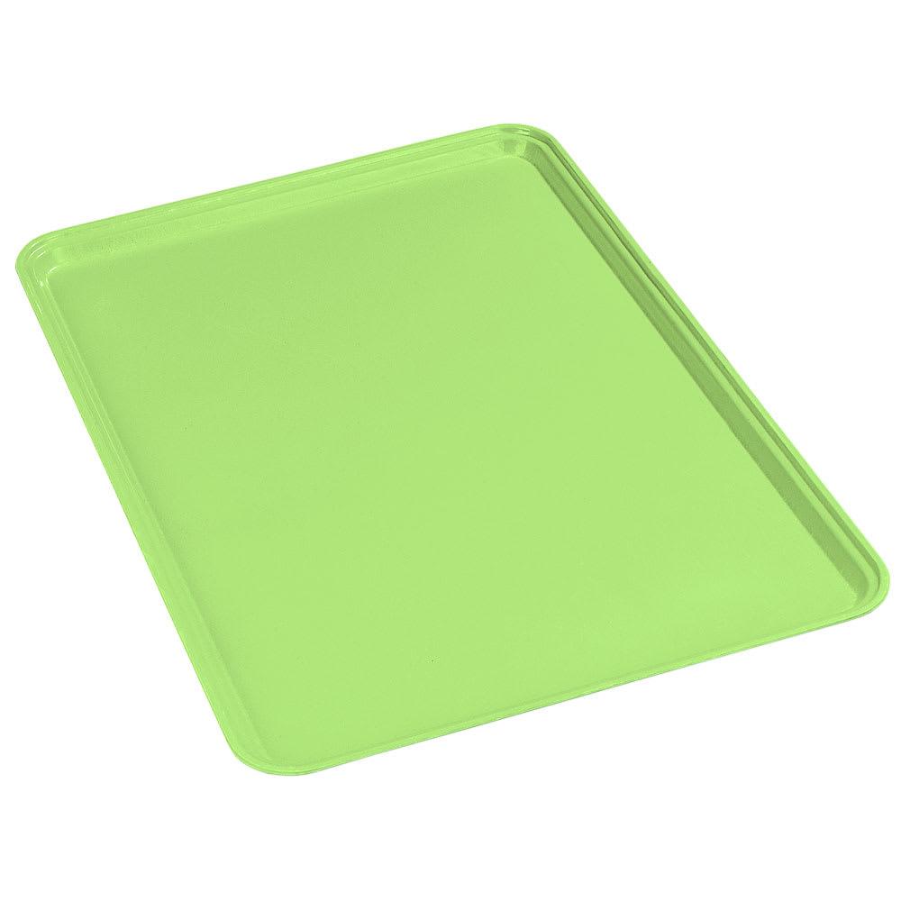 Carlisle 2637FG009 Rectangular Cafeteria Tray - 37x26.5cm, Lime