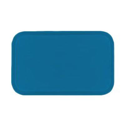 Carlisle 2637FG013 Rectangular Cafeteria Tray - 37x26.5cm, Ice Blue