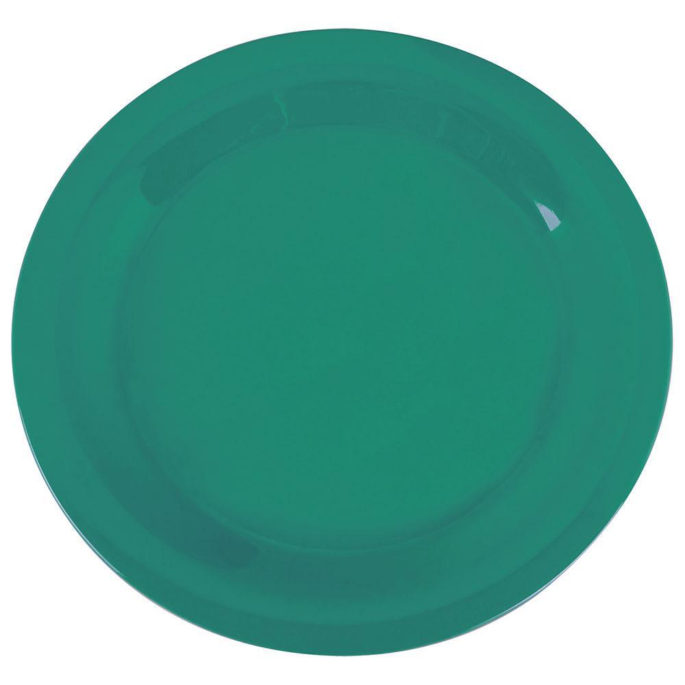 """Carlisle 3300209 10-1/2"""" Sierrus Dinner Plate - Melamine, Meadow Green"""