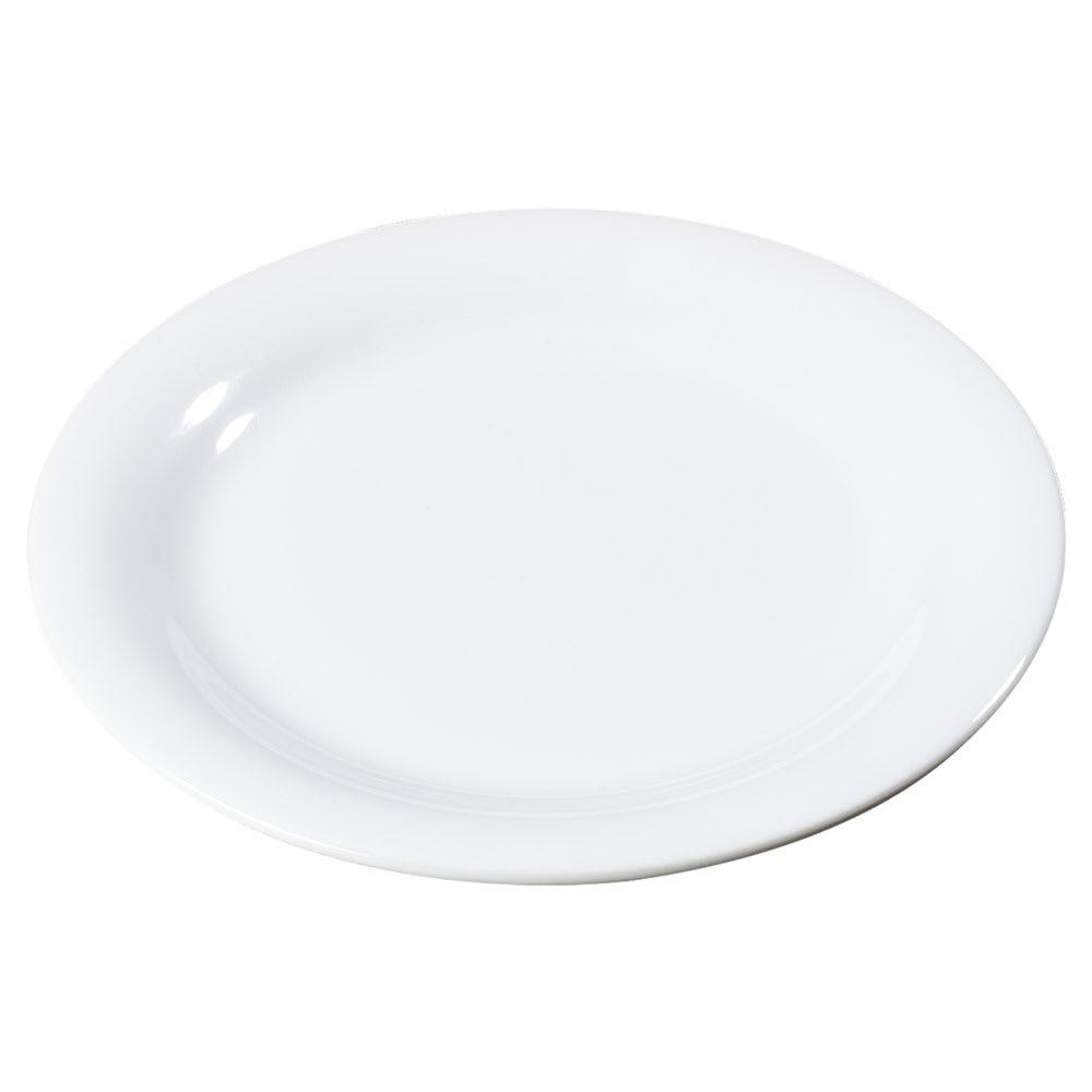 """Carlisle 3300402 9"""" Sierrus Dinner Plate - Melamine, White"""