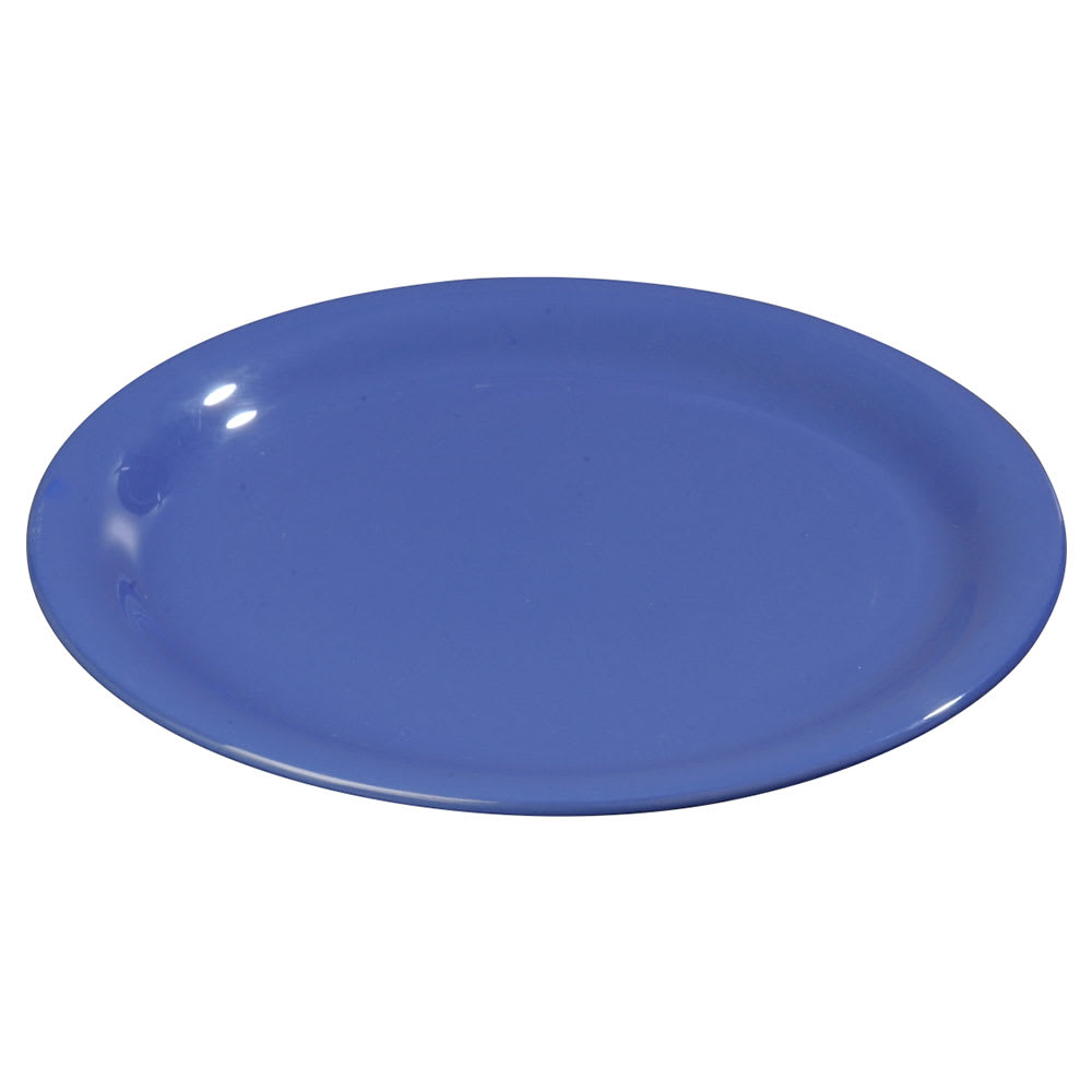 "Carlisle 3300614 7 1/4"" Sierrus Salad Plate - Melamine, Ocean Blue"