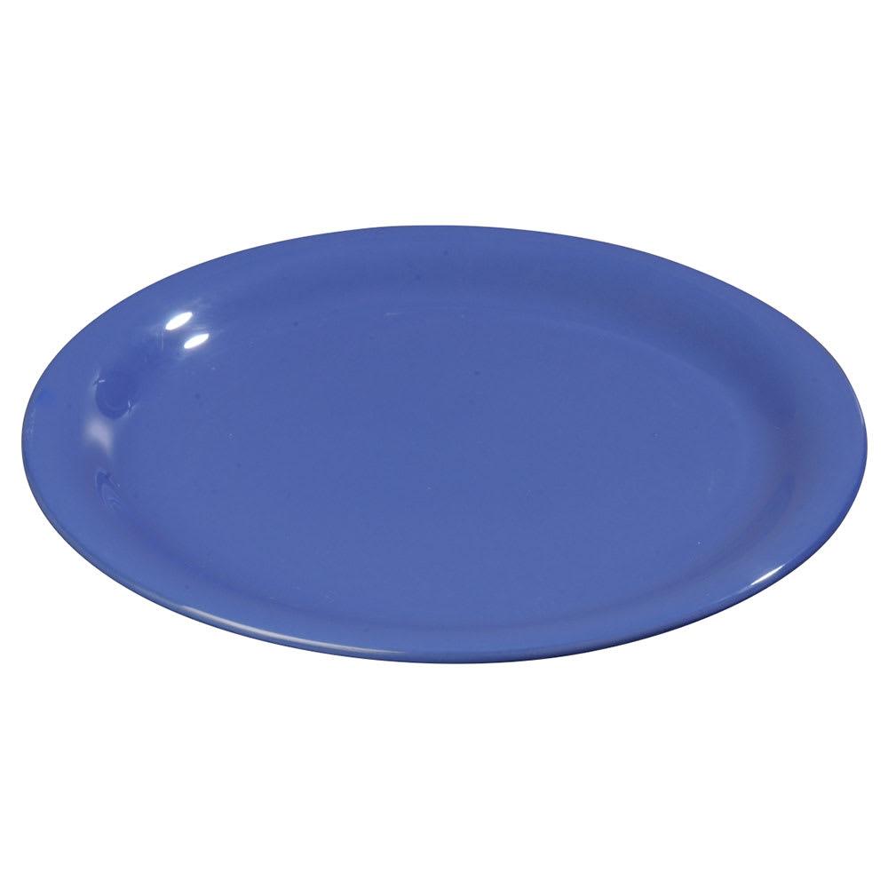 """Carlisle 3300814 6 1/2"""" Sierrus Pie Plate - Melamine, Ocean Blue"""
