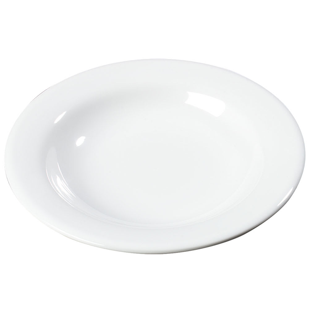 Carlisle 3303402 13 oz Sierrus Pasta/Soup/Salad Bowl - Melamine, White