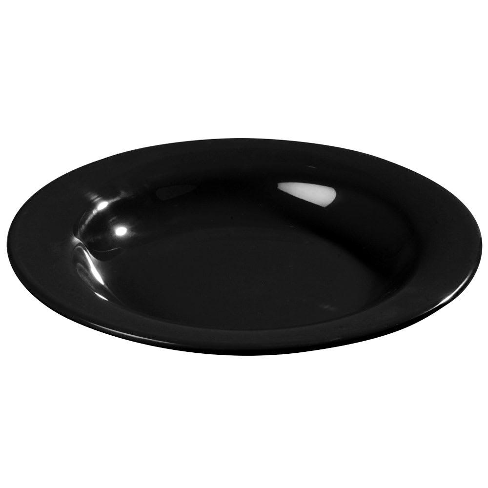 Carlisle 3303403 13 oz Sierrus Pasta/Soup/Salad Bowl - Melamine, Black
