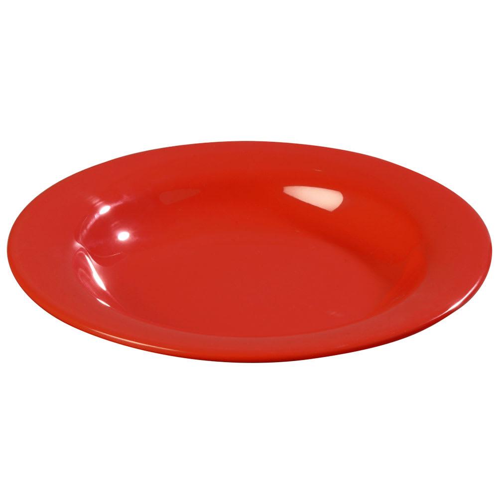 Carlisle 3303405 13-oz Sierrus Pasta/Soup/Salad Bowl - Melamine, Red