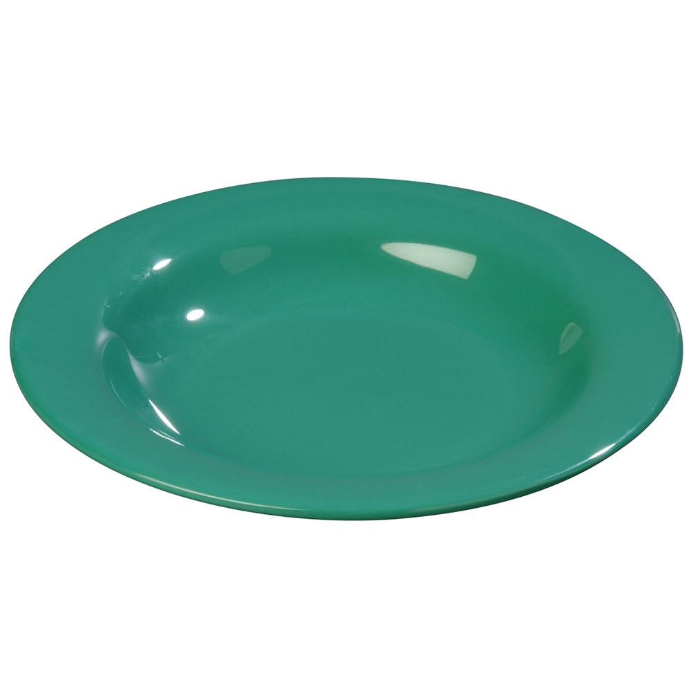 Carlisle 3303409 13 oz Sierrus Pasta/Soup/Salad Bowl - Melamine, Meadow Green
