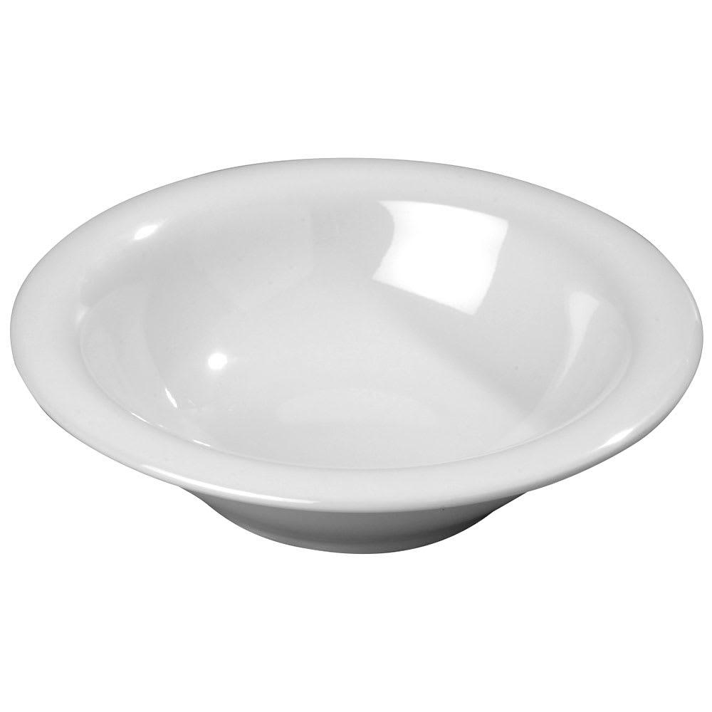 Carlisle 3303602 12-oz Sierrus Rimmed Bowl - Melamine, White