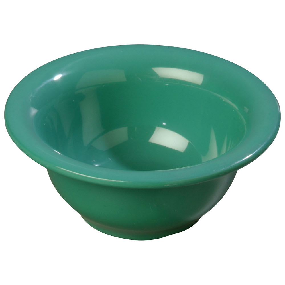 Carlisle 3303809 10 oz Sierrus Rimmed Nappie Bowl - Melamine, Meadow Green