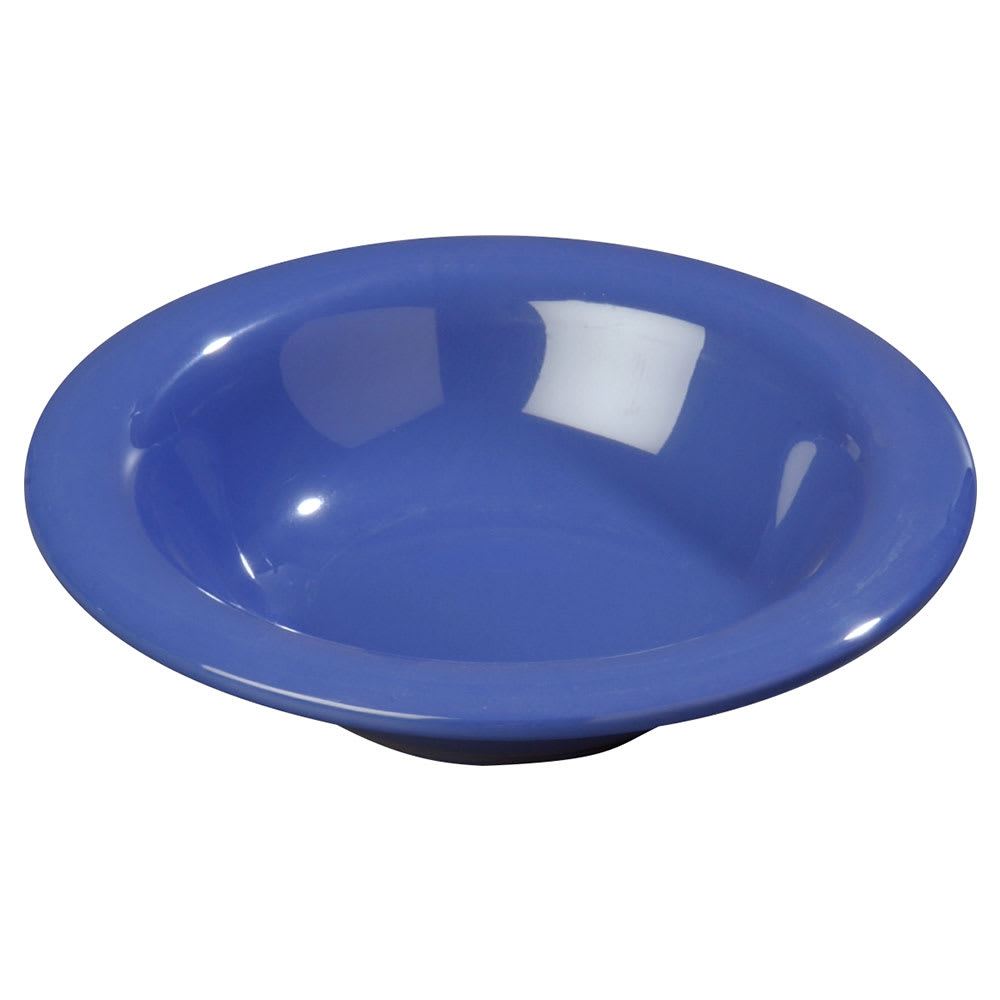 Carlisle 3304014 6-oz Sierrus Rimmed Bowl - Melamine, Ocean Blue