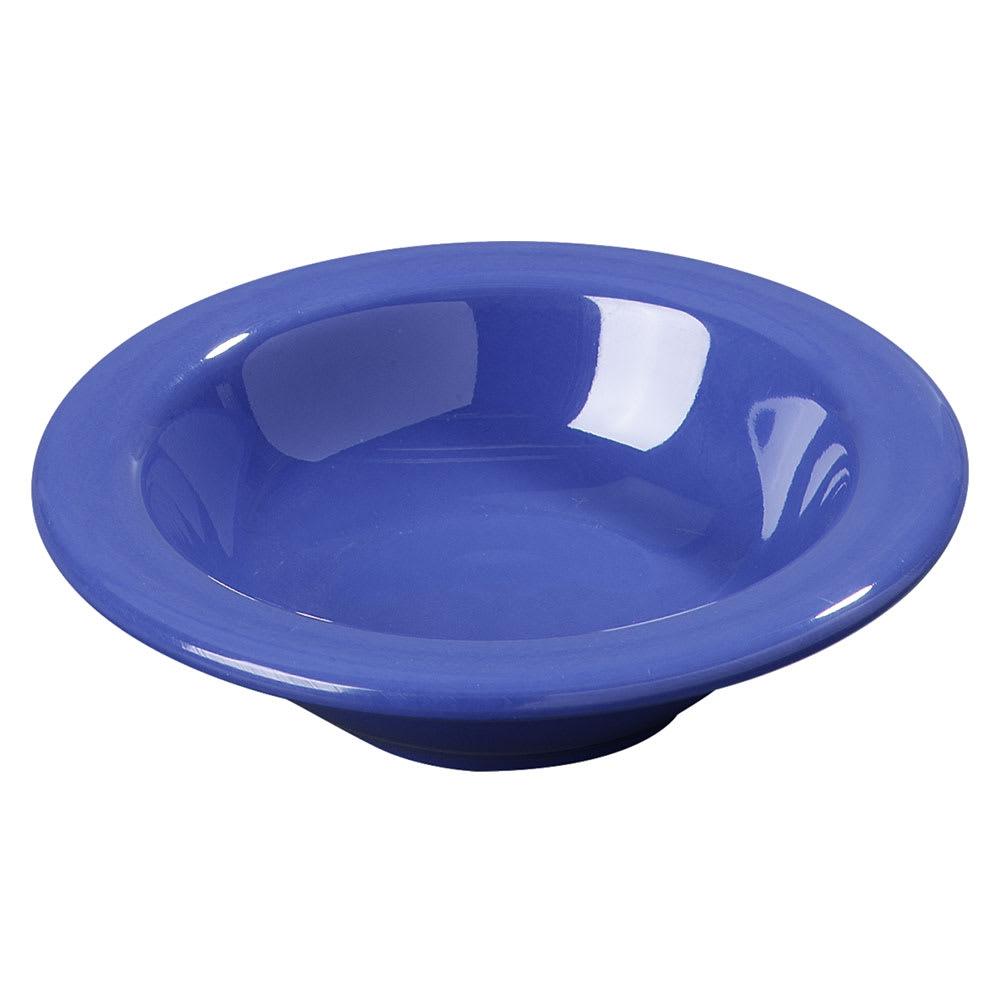 Carlisle 3304214 4-1/2-oz Rimmed Fruit Bowl - Melamine, Ocean Blue
