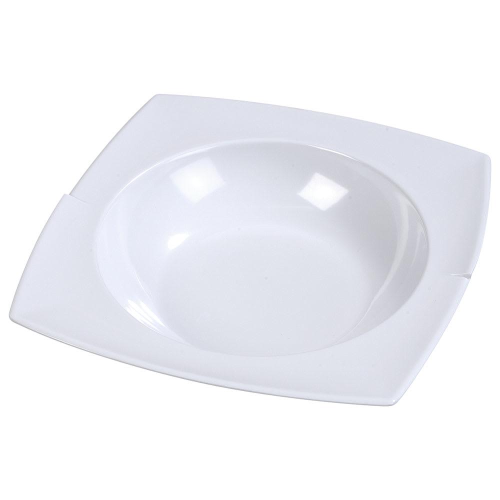 Carlisle 3331802 2-1/2-qt Rave Rimmed Bowl - Melamine, White