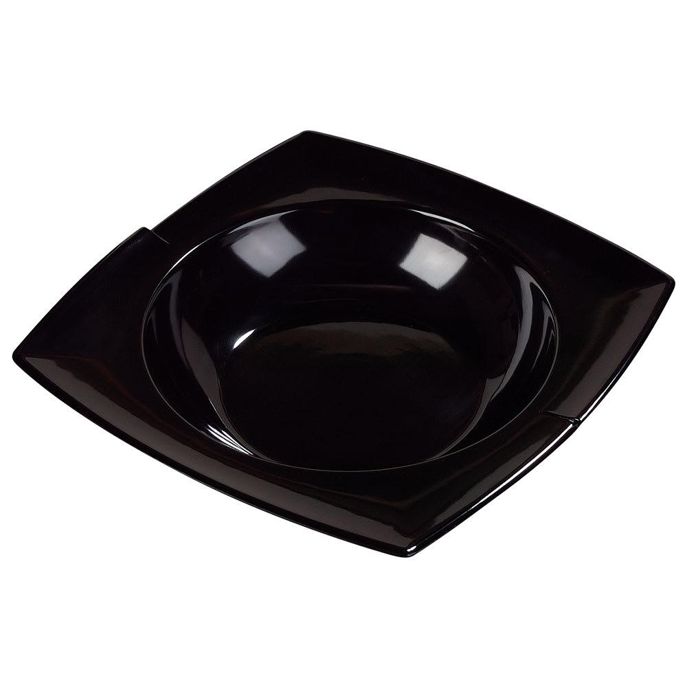 Carlisle 3331803 2 1/2 qt Rave Rimmed Bowl - Melamine, Black