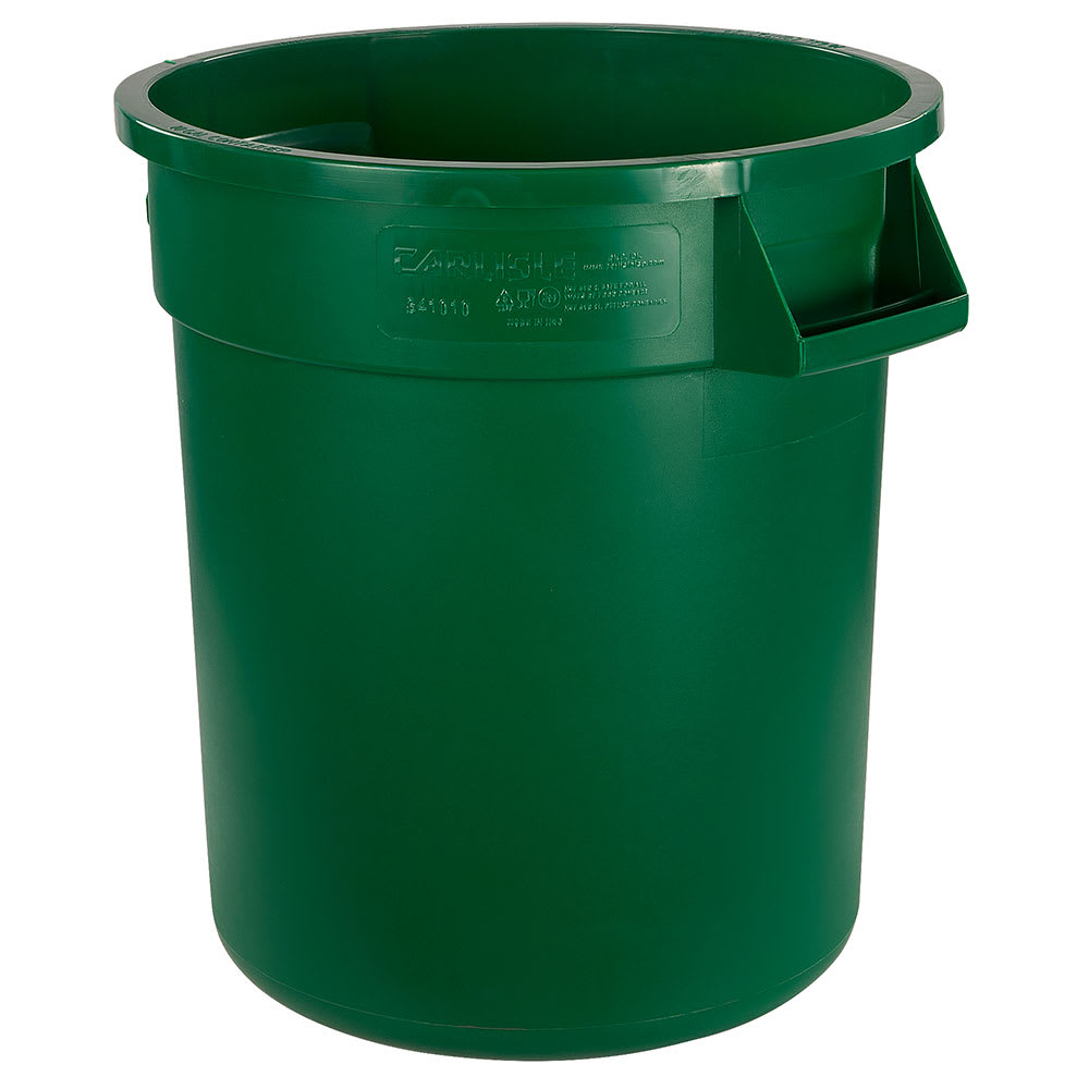 Carlisle 34101009 10-gal Multiple Materials Recycle Bin - Indoor/Outdoor