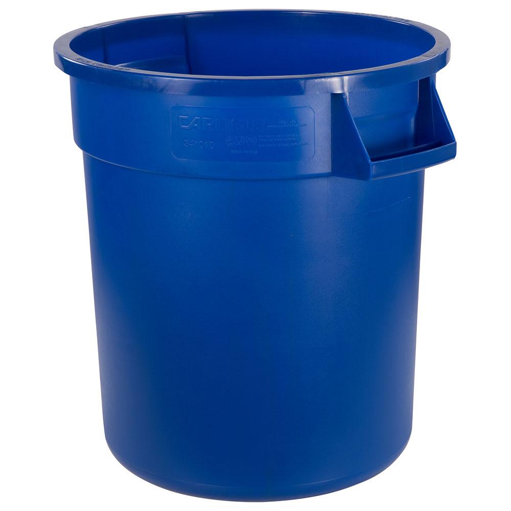 Carlisle 34101014 10 gal Multiple Materials Recycle Bin - Indoor/Outdoor