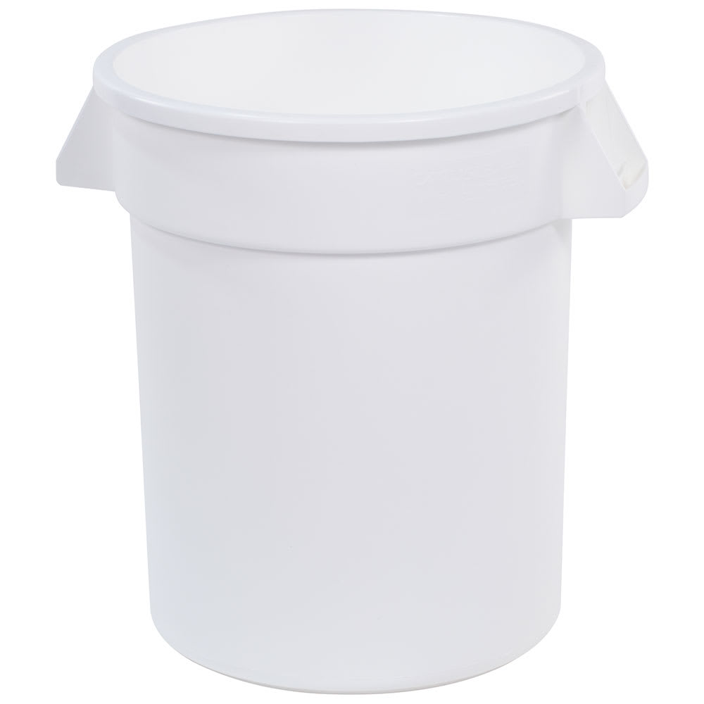 Carlisle 34102002 20 gallon Commercial Trash Can - Plastic, Round, Food Rated