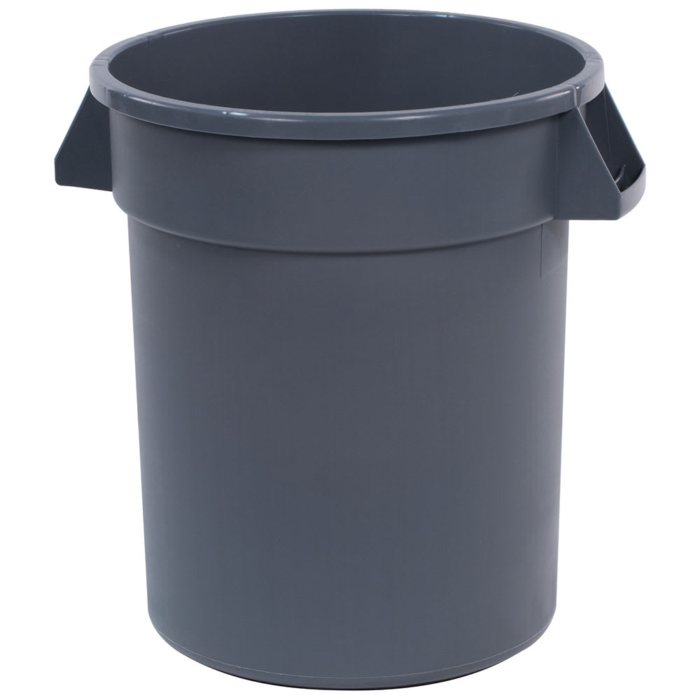 Carlisle 34102023 20 gallon Commercial Trash Can - Plastic, Round, Food Rated