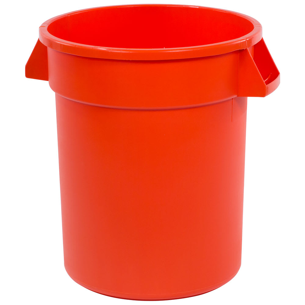 Carlisle 34102024 20 gallon Commercial Trash Can - Plastic, Round, Food Rated