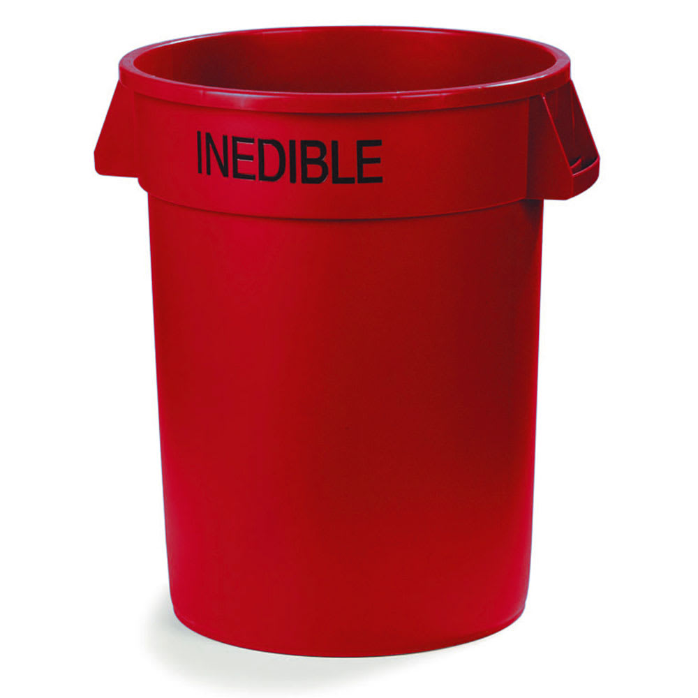 Carlisle 341032INEB05 32-gallon Commercial Trash Can - Plastic, Round, Food Rated