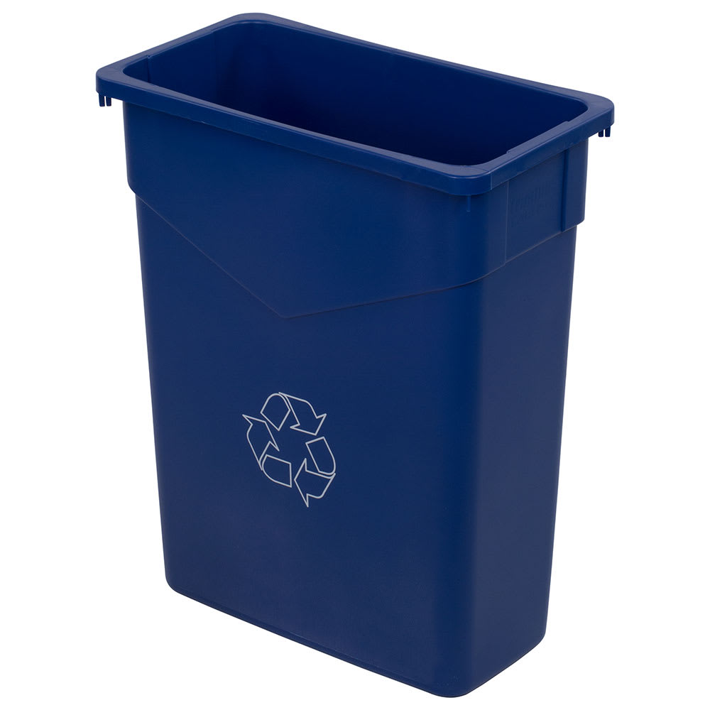 Carlisle 342015REC-14 15 gal Multiple Materials Recycle Bin - Indoor