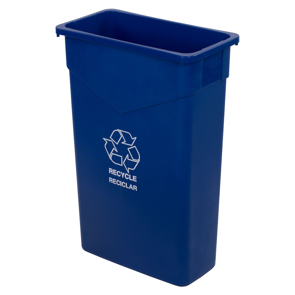 Carlisle 342023REC14 23-gal Multiple Materials Recycle Bin - Indoor