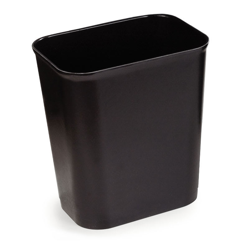 Carlisle 34294003 41-qt Rectangle Waste Basket - Plastic, Beige