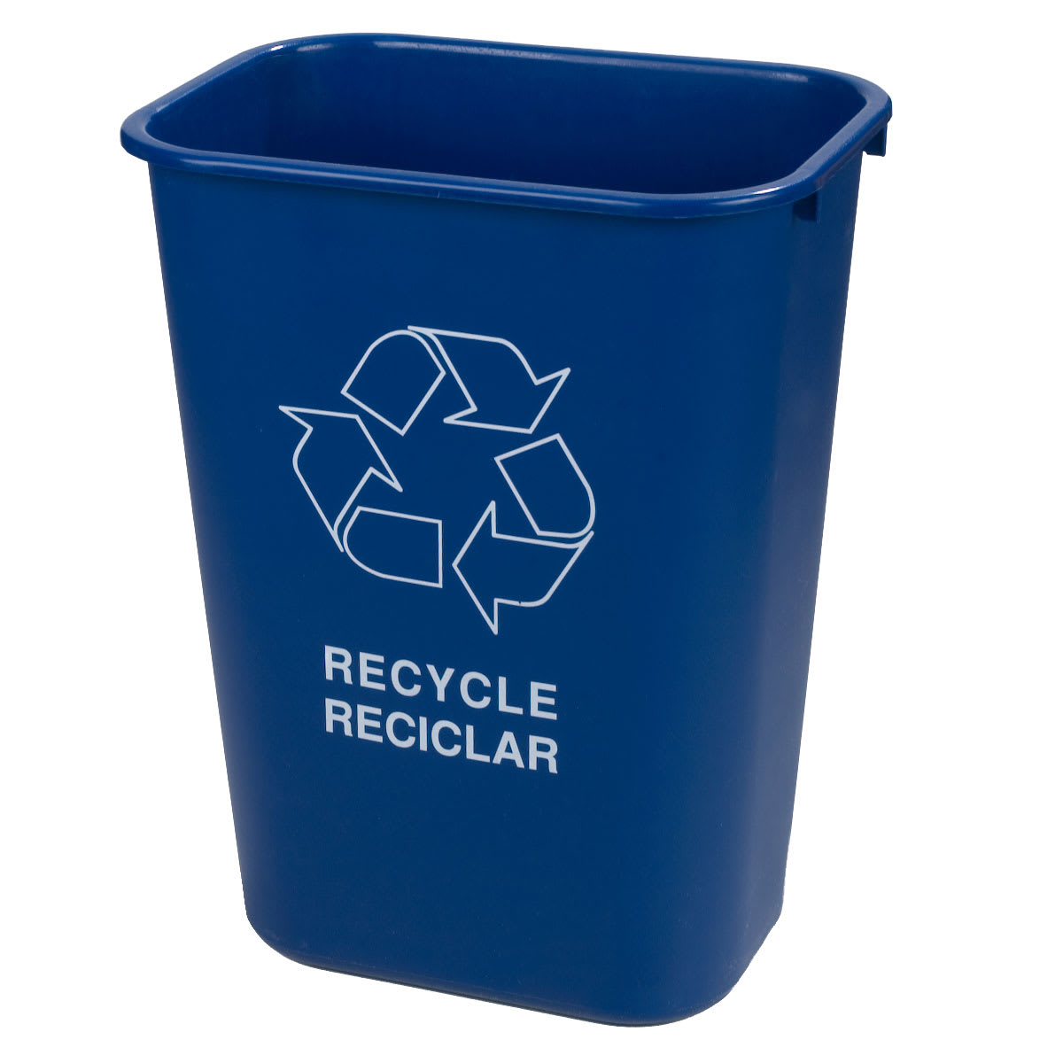 Carlisle 342941REC14 10.3 gal Multiple Materials Recycle Bin - Indoor