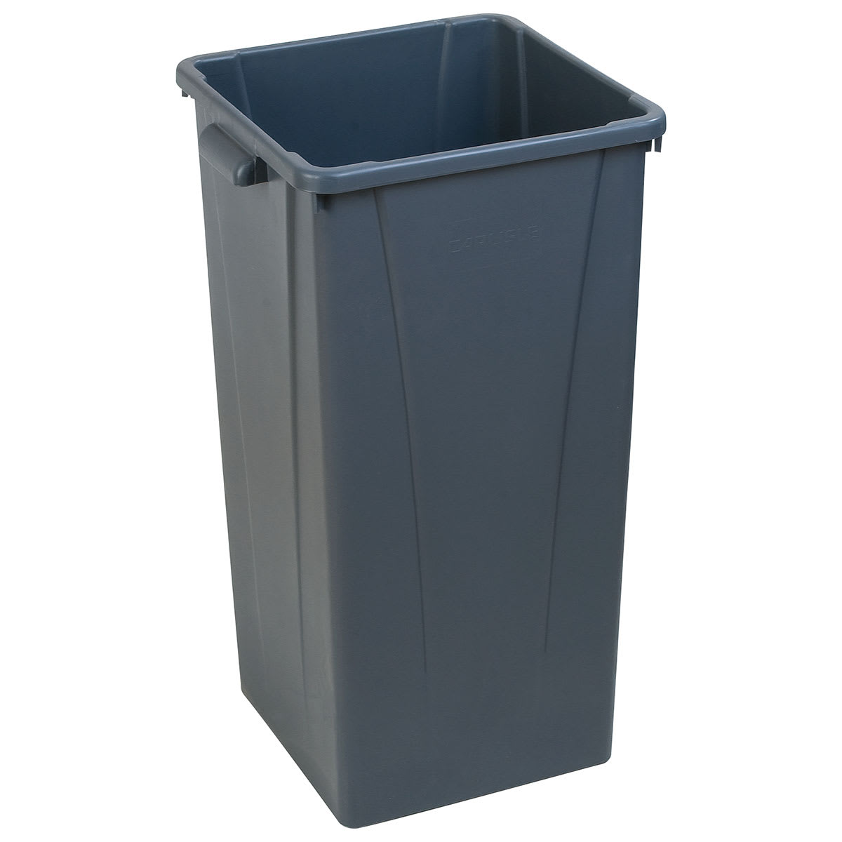 Carlisle 34352323 23 gallon Commercial Trash Can - Plastic, Square, Built-in Handles