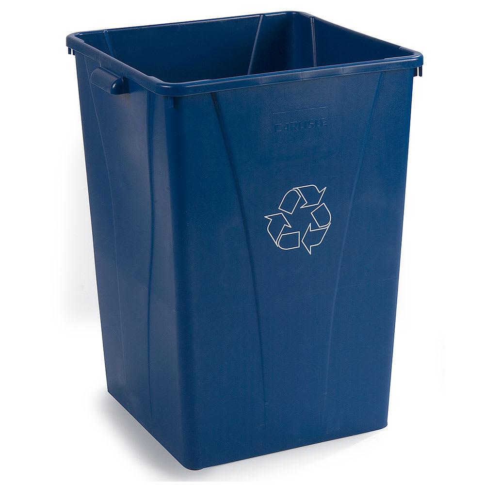 Carlisle 343935REC-14 35-gal Multiple Materials Recycle Bin - Indoor